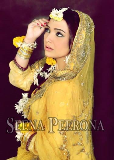 Seena Peerona Bridal Wear 2014 Dresses For Wedding