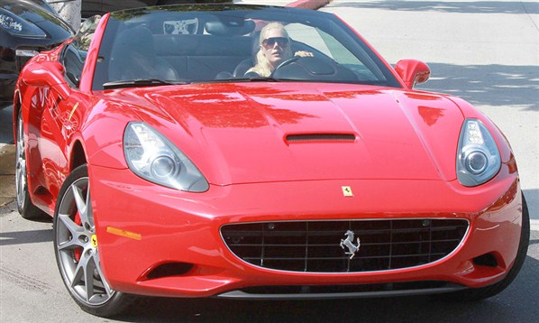 photo of Heidi Montag Porsche Cayenne GTS, Ferrari - car