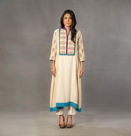 Inaaya Winter Dresses 2014 For Girls and Women