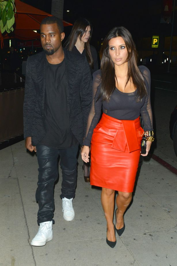Kanye West & Kim Kardashian Photos