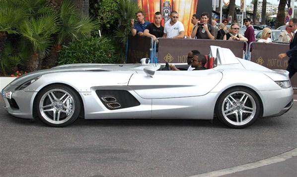 Kanye West Luxury Car Photos