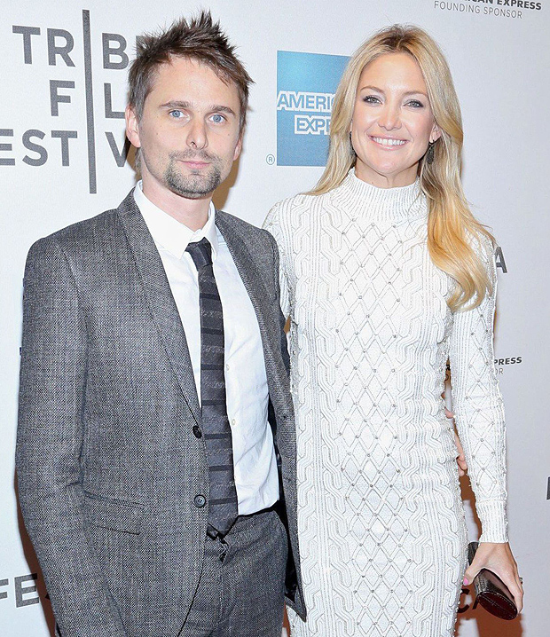 Kate Hudson & Matt Bellamy Pics