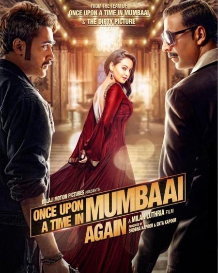 Once Upon Ay Time In Mumbai Dobaara 2013 Movie Poster