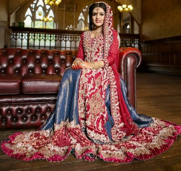 Girls Pakistani Bridal Dresse