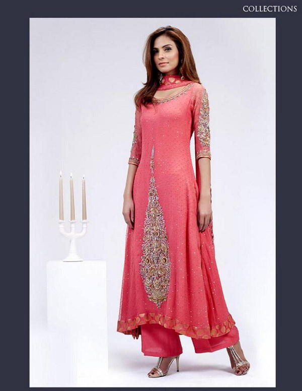 Creative Latest Pakistani And Indian Party Dresses For Women 2017