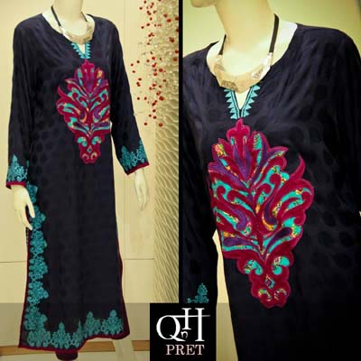 QnH Casual Winter Wear Dresses 2014