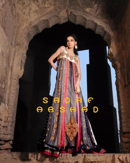 Sadaf Arshad Bridal Wear Dresses 2013-2014 for Women