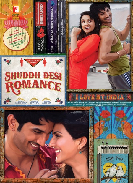 Movie Shuddh Desi Romance 2013 Movie Poster: