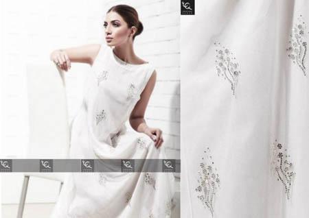 Ayesha and Usman Qamar Girls Winter Dresses 2014