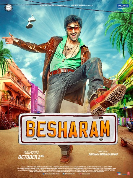 Movie Besharam 2013 Movie poster