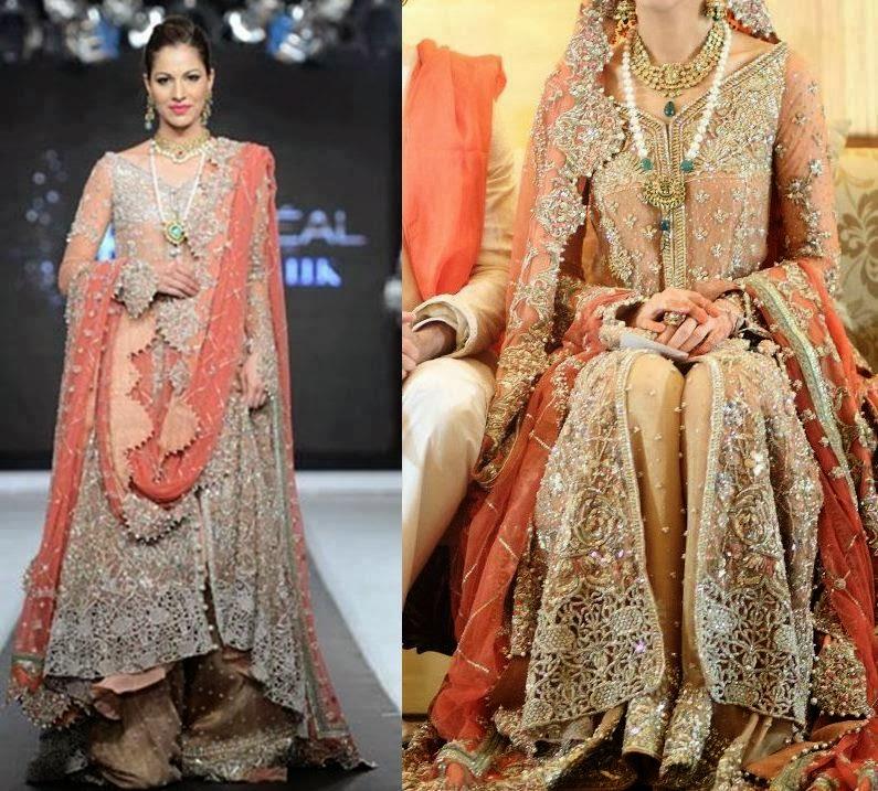 Pakistani Bridal Dresses 2014 For Girls Pakistani Bridal Dresses 2014 For Girls Fashion Trends