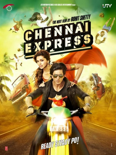 Movie Chennai Express 2013 Movie Poster
