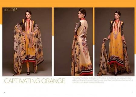 Al Hamra Textiles Spring Dresses 2014 for Women