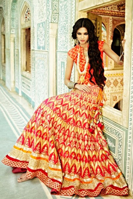 Beautiful Indian Bridal Wear Dresses UK 2014 by Designers