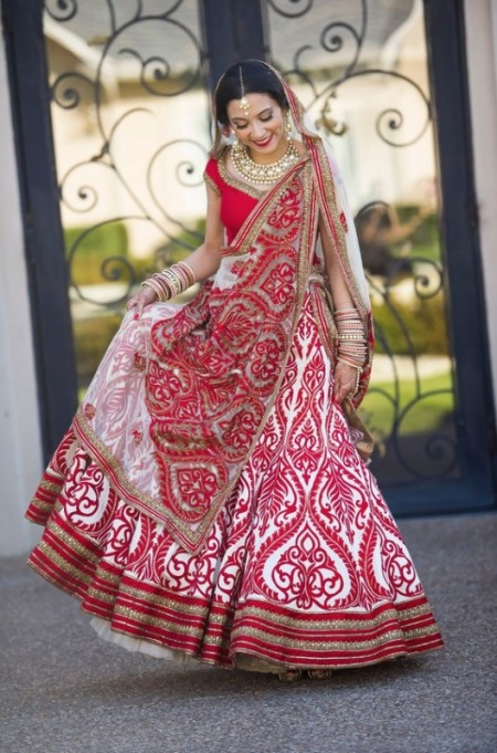 Beautiful Indian Bridal Wear Dresses UK 2014 by Designers