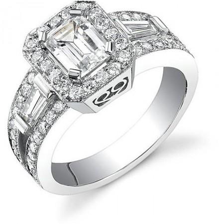 best emerald cut engagement rings fashion 2017