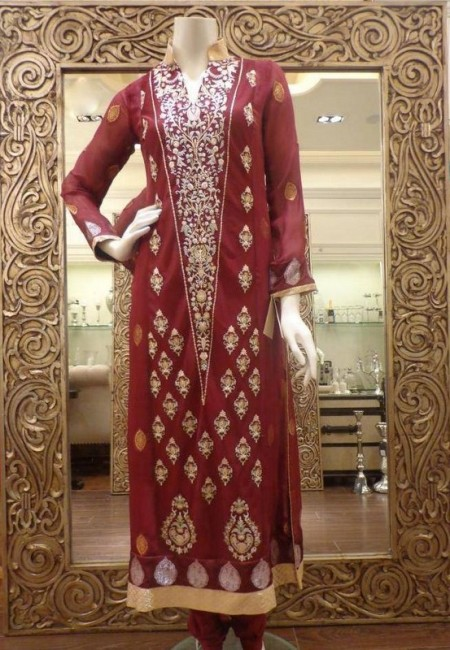Threads And Motifs Party Dresses 2014 For Women