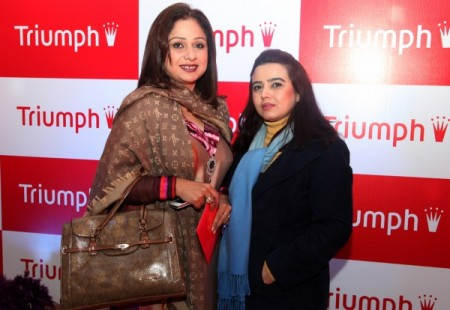 Triumph Lahore at L'atelier Launch Photos
