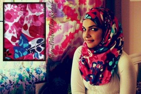 Fashion Of Head Scarves And Hijab Designs 2014 For Women