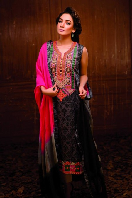 Hadiqa Kiani Spring Summer Dresses 2014 For Women