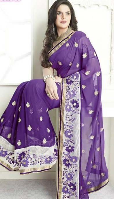 Latest Designs of Sarees 2014 for Women