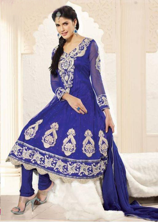 latest fashion of pakistani frock designs 2014 latest