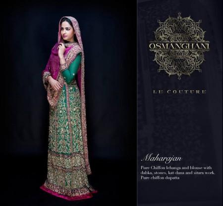 Osman Ghani Semi-Formal Dresses 2014 For Winter
