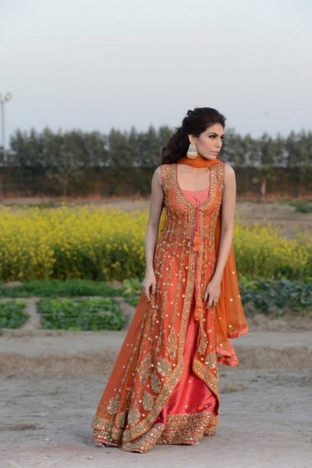 Mehryn Zafar Formal & Bridal Wear Dresses 2014 For Women