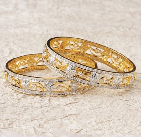 New Gold Bangle Designs for Women
