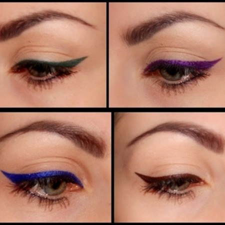 How To Apply Colored Liner