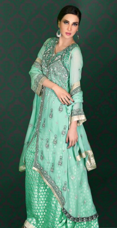 Ramsha Embroidered Women Wedding Wear New Collection 2014
