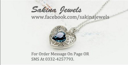 Sakina Jewelery Necklace Collection 2014 For Women
