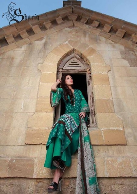 Shariq Textiles Libas 2014 Volume 1 for Women