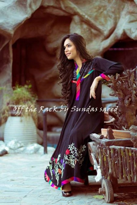 Off The Rack Winter Dresses 2014 by Sundas Saeed