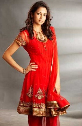 Trend Of Red Dresses 2014 For Pakistani Women