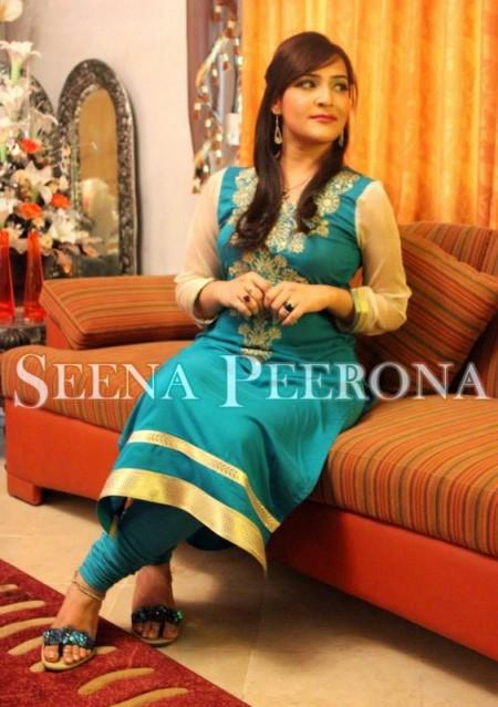 Seena Peerona Casual Dresses 2014 For Summer