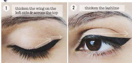 Make Cat Eyes For Makeup at Night Time
