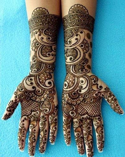 Indian Girls Find New Mehndi Designs 2014
