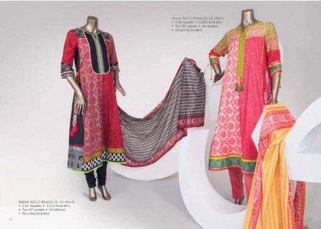 Junaid Jamshed Lawn Dresses 2014 For Women