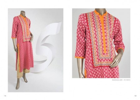Junaid Jamshed Kids Summer Dresses 2014