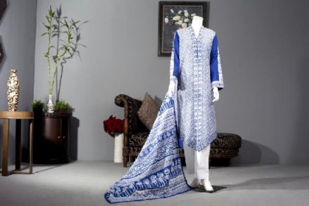 Junaid Jamshed Lawn Dresses 2014 For Women