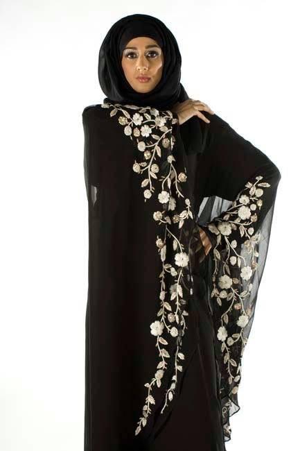 Women Latest Abayas Designs 2014