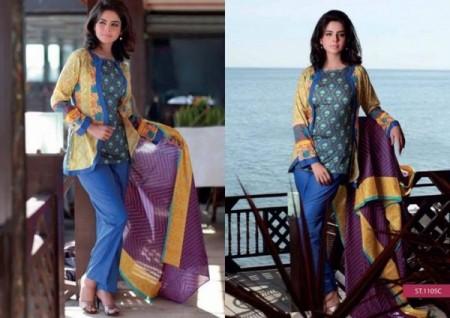 Shariq Textiles Women Libas Lawn 2014 Volume 2