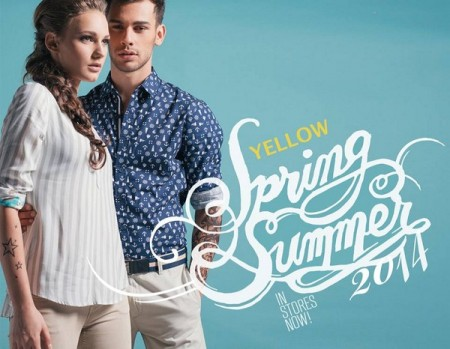 Yellow Spring Dresses 2014 For Men And Women