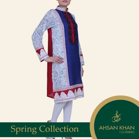 Ahsan Khan Spring Summer Dresses 2014 for Ladies