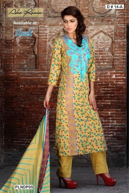 Aroshi Women Summer Dresses 2014