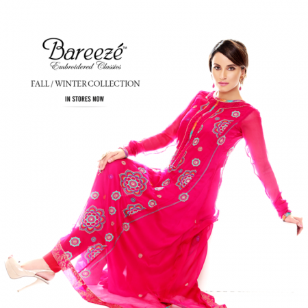 Bareeze Spring Summer Dresses 2014 For Girls