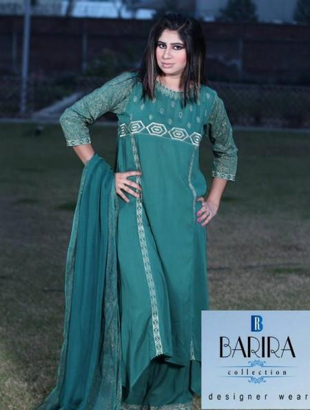 Barira Collection Women Summer Dresses 2014