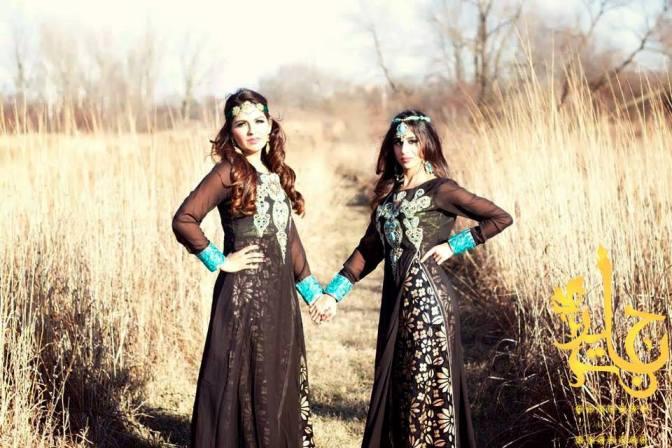 Jannat Nazir Formal and Bridal Dresses 2014 for Summer