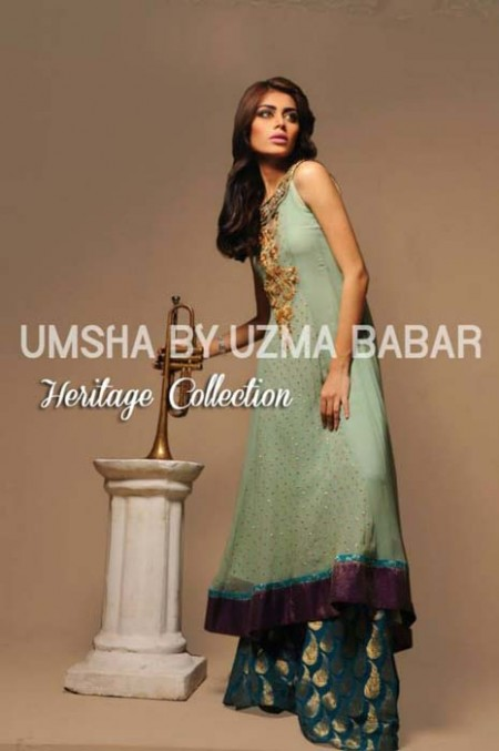 Umsha by Uzma Babar Formal Dresses 2014 For Summer
